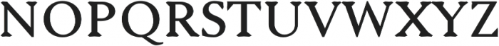 Serenity Serif Bold otf (700) Font UPPERCASE