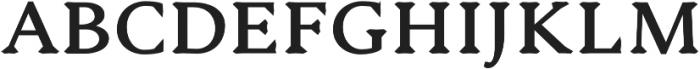 Serenity Serif Heavy otf (800) Font UPPERCASE