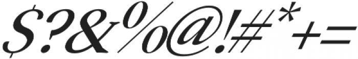 Serenity Serif Italic otf (400) Font OTHER CHARS