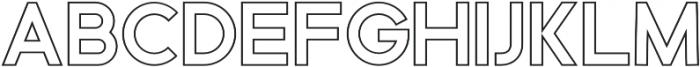 Serfict Sans otf (400) Font LOWERCASE