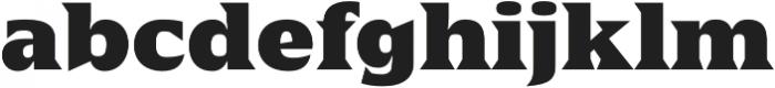 Sergio FY Black otf (900) Font LOWERCASE
