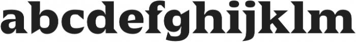 Sergio FY otf (700) Font LOWERCASE