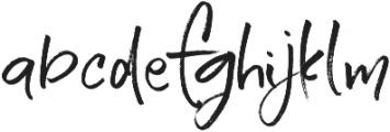 Serial Catch Alternates Straigh otf (400) Font LOWERCASE