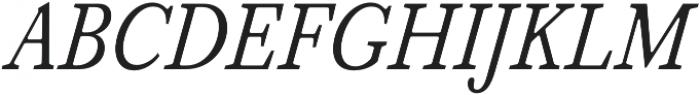 Serif 420 otf (400) Font UPPERCASE