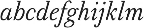 Serif 420 otf (400) Font LOWERCASE