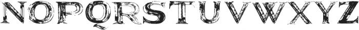 SerifaAspera ttf (400) Font UPPERCASE