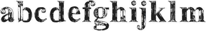 SerifaAspera ttf (400) Font LOWERCASE