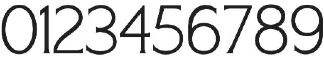 Seriously Light otf (300) Font OTHER CHARS