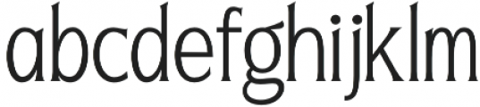 Seriously Light otf (300) Font LOWERCASE