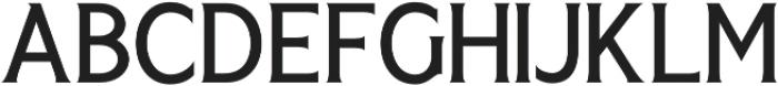 Seriously Regular otf (400) Font UPPERCASE