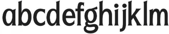 Seriously Regular otf (400) Font LOWERCASE