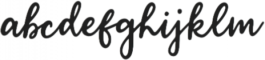 Serpentine Script otf (400) Font LOWERCASE