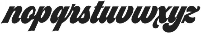 Seventies Regular otf (400) Font LOWERCASE