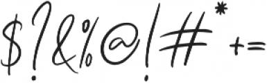 Seville Script Alt Regular otf (400) Font OTHER CHARS