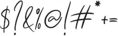 Seville Script Regular otf (400) Font OTHER CHARS