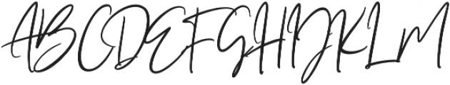 Seville Script Regular otf (400) Font UPPERCASE