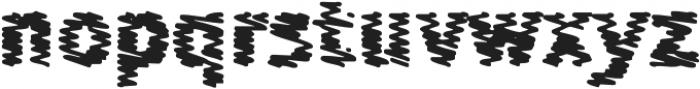 Sewn M otf (400) Font LOWERCASE