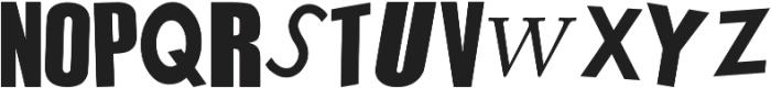 Sex Pistols ttf (400) Font UPPERCASE