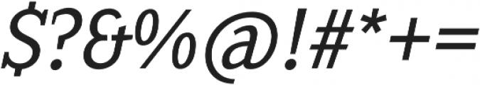 Sextan Book Italic otf (400) Font OTHER CHARS