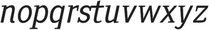 Sextan Book Italic otf (400) Font LOWERCASE