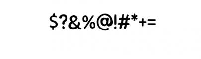 SEMERU-Natural.ttf Font OTHER CHARS