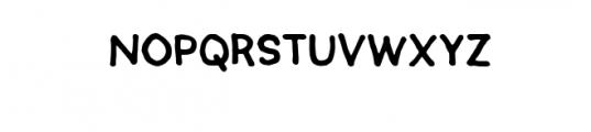 SEMERU-Natural.ttf Font UPPERCASE
