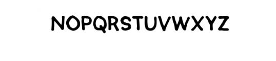 SEMERU-Natural.ttf Font LOWERCASE