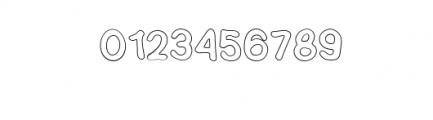 SEMERU-Outline.ttf Font OTHER CHARS