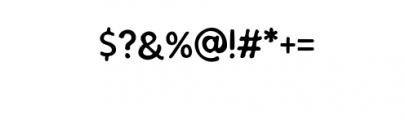 SEMERU-Stamp.ttf Font OTHER CHARS