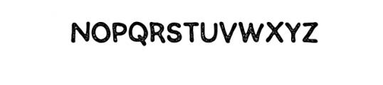 SEMERU-Stamp.ttf Font LOWERCASE