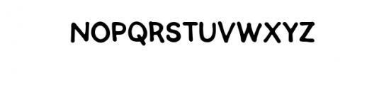 SEMERU.ttf Font UPPERCASE