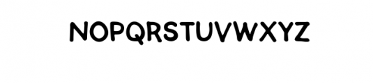 SEMERU.ttf Font LOWERCASE