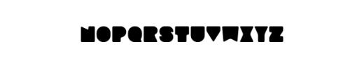 Sebasengan-Curvy.otf Font LOWERCASE