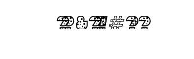 Sebasengan-Dot.otf Font OTHER CHARS