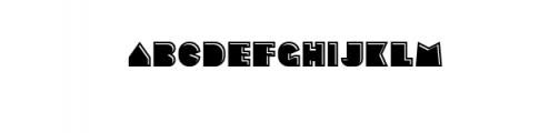 Sebasengan-Emboss.otf Font LOWERCASE