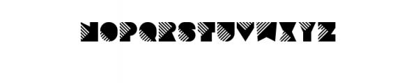 Sebasengan-Invaded.ttf Font UPPERCASE