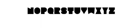 Sebasengan-Regular.ttf Font UPPERCASE