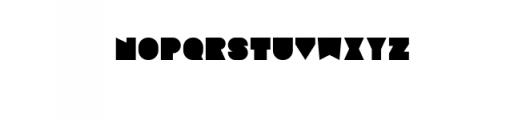 Sebasengan-Regular.ttf Font LOWERCASE