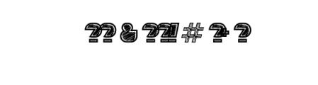 Sebasengan-Roughen.otf Font OTHER CHARS
