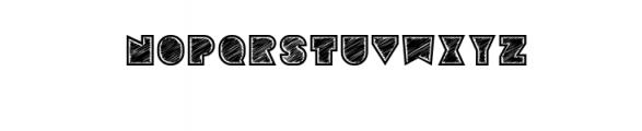 Sebasengan-Roughen.otf Font UPPERCASE