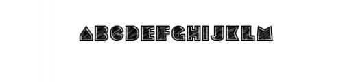 Sebasengan-Roughen.otf Font LOWERCASE