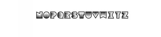 Sebasengan-Spine.otf Font LOWERCASE