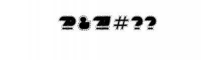 Sebasengan-Stitched.otf Font OTHER CHARS