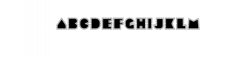 Sebasengan-Stitched.otf Font LOWERCASE