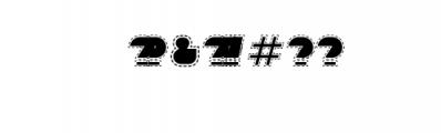 Sebasengan-Stitched.ttf Font OTHER CHARS