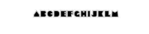 Sebasengan-Stitched.ttf Font LOWERCASE