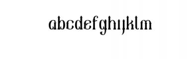 Sekatoan-Clean.otf Font LOWERCASE