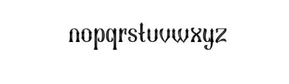 Sekatoan-Inline.ttf Font LOWERCASE