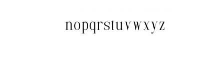 Selvina Font LOWERCASE