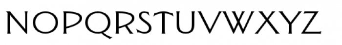 Seabright Monument Pro Font LOWERCASE